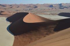 Dunes in Namib desert, Namibia Stock Photos