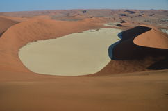 Dunes in Namib desert, Namibia. Africa royalty free stock photography