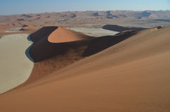 Dunes in Namib desert, Namibia. Africa Stock Photography