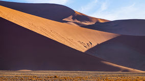 Dunes. In the Namib Naukluft National Park, Sesriem, Namibia Stock Image