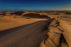 Dunes in Namibia Royalty Free Stock Image