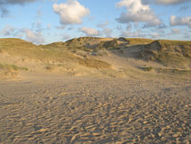 Dunes in Neringa, Lithuania stock image