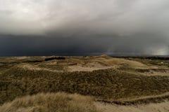 Dunes on the North Frisian Island Amrum. In Germany Stock Photo