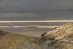 Dunes on the North Frisian Island Amrum. In Germany Stock Photos