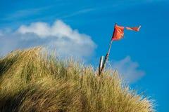 Dunes on the North Sea coast on the island Amrum. Germany stock photo