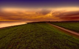 Dunes at the North Sea in Holland Stock Photo