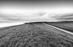 Dunes at the North Sea in Holland Royalty Free Stock Photos