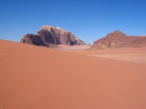 Dunes oranges photos libres de droits
