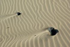 Dunes at Porto Pino's Bay royalty free stock photography