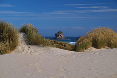Dunes and rock Royalty Free Stock Images