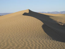 Dunes in Sahara desert Royalty Free Stock Images