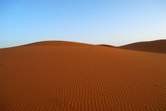 Dunes of Sahara Desert Royalty Free Stock Photography