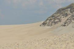 Dunes. Sand in the desert. Slowinski National Park Royalty Free Stock Image