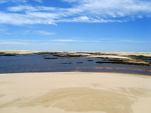 Dunes at Sao Luis Royalty Free Stock Photos