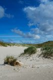 Dunes and sky Royalty Free Stock Image