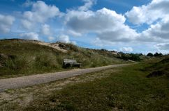 Dunes and sky Stock Image