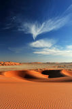Dunes and sky Stock Photography