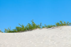 Dunes and sky. Royalty Free Stock Images