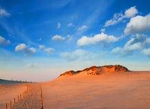 Dunes at Slowinski National Park Royalty Free Stock Image