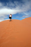 Dunes of Sossuvlei. Namibia Royalty Free Stock Photo