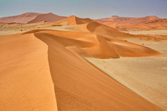 Dunes sossuvlei Royalty Free Stock Photography