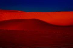 Dunes At Sunset Stock Image
