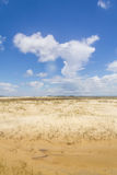 Dunes in Tavare city Royalty Free Stock Image