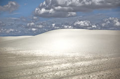 Dunes from White Sands. These are dunes from White Sands National Monument in New Mexico royalty free stock photography