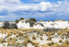 Dunes of White Sands. Dunes inside the White Sands National Monument in New Mexico, USA Stock Images