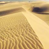Dunes. Wonderful dunes in Maspalomas, Gran Canaria Royalty Free Stock Photos