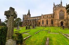 dunfermline Шотландия аббатства Стоковое Изображение RF