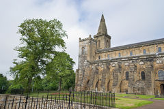 Dunfermline Abbey Church. Ruins of Dunfermline Abbey Church, Scotland, United Kingdom Stock Photo