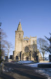 Dunfermline Abbey in Winter Royalty Free Stock Photos