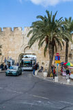 The Dung Gate, Old City of Jerusalem in Israel Royalty Free Stock Images