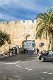 Dung Gate Old City of Jerusalem Stock Images