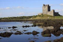 Dungaire castle. Kinvara Ireland, - July 20, 2016: Dungaire Castle, Galway Bay, County Galway, Ireland Royalty Free Stock Images