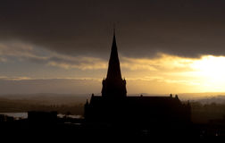 Dungannon, Irlanda del Norte imagen de archivo