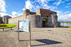 Dungarvan Castle, Co.Waterford, Ireland Royalty Free Stock Photo