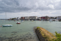 Dungarvan marina royalty free stock photo