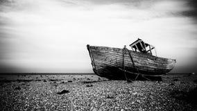 Dungeness łódź rybacka Fotografia Stock
