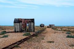 Dungeness海滩 库存图片
