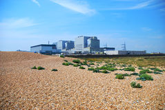 Dungeness elektrownia jądrowa Obrazy Royalty Free
