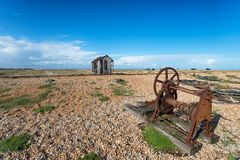 Dungeness in Kent Royalty-vrije Stock Foto's