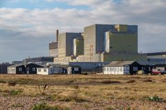 Dungeness Power Station, Kent, UK. Dungeness, Kent, England, UK - October 28, 2016: Dungeness Nuclear Power Station Stock Image