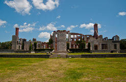 Dungeness Mansion Ruins on Cumberland GA Royalty Free Stock Images