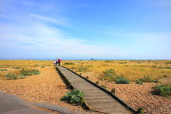 Dungeness Nature Reserve view Kent United Kingdom Royalty Free Stock Photos