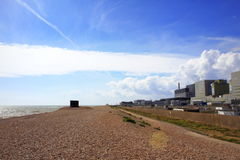 Dungeness Nuclear Power Station view Kent England Royalty Free Stock Photography