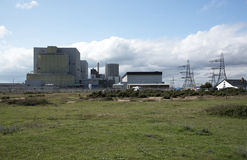 Dungeness Nuclear Power stations A & B UK Royalty Free Stock Photo