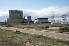 Dungeness Nuclear Power stations A & B UK Royalty Free Stock Image