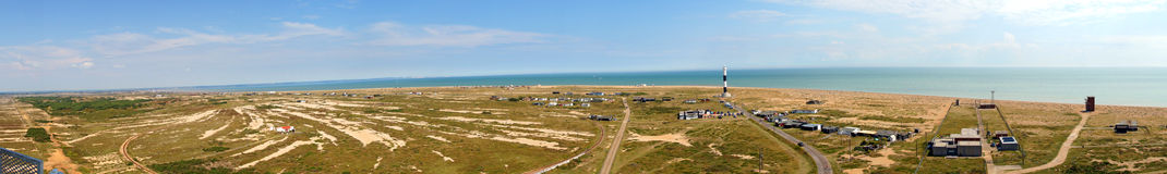 Dungeness panoramic Stock Photography
